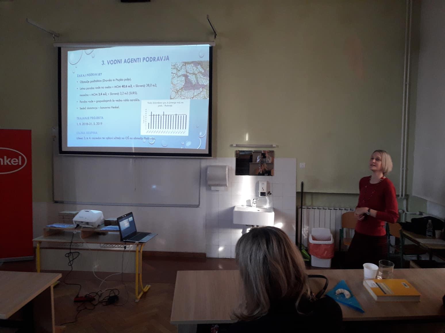 Aktivno spremljanje porabe vode v šolskih učilnicah