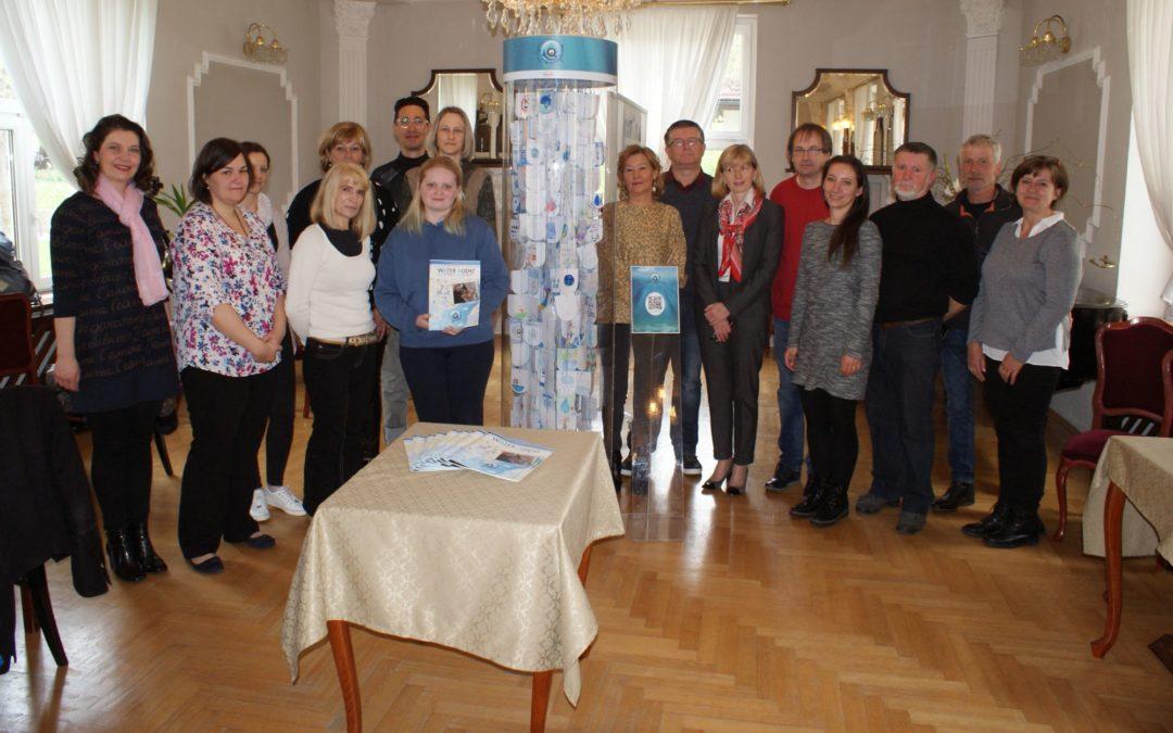 Otvoritev razstave izdelkov učencev v okviru projekta Vodni agenti Podravja