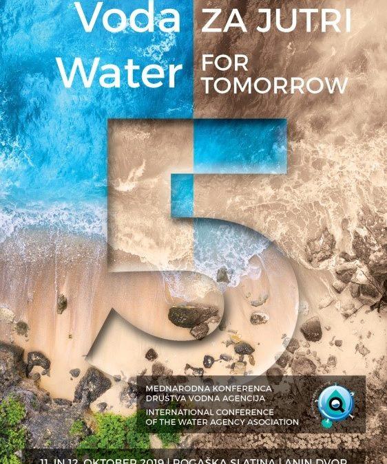 Invitation on 5th International conference of Water agency Rogaška 2019