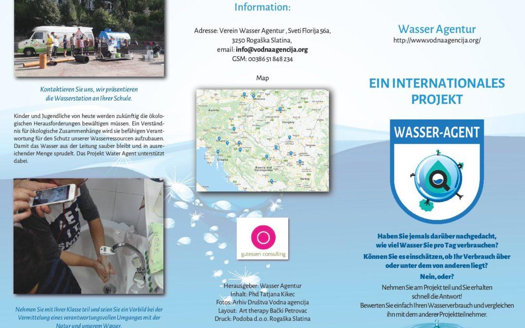 Leaflet – German language