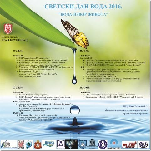 Svetski dan voda 2016