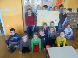 Projekt vodni agent na Osnovni šoli Ribno